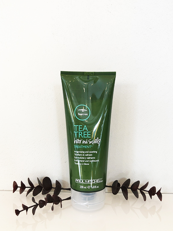 Tea tree hair and scalp treatment